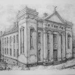 Калуш, будинок товариства Сокіл, 1920-ті роки, Петро Грицюк