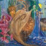 Магия стихий, холст, масло, 60х70, 2011г._Художник Татьяна Золотухина