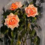 Натюрморт с розами_холст,масло, 50х70,Дмитрий Косариков