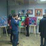 Выставка художников Портала в г. Львов-На выставке Портала