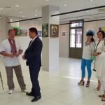 Выставка Портала в Греции-г.Салоники-Перед открытием