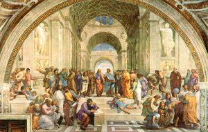 Афинская школа-фреска Рафаэля. Ватикан.картины,художники,живопись,выставки,конкурсы