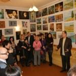 Автор Проекта рассказывает о художниках
