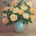 Картины на заказ-Елена Жигилевич, Розы, масло
