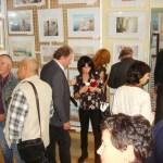 На выставке Сергея Григорьева