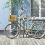 Акварели Тьерри Дюваля.Городской пейзаж. Велосипед