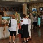 Работы участников на выставке