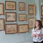 Обласний атестаційний вернісаж в приміщенні Краматорського художнього музею