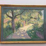 Картина-Вельде Ван де Анри.Сад в Калмхуте. 1892-Henry van de Velde