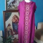 Жіноча сукня, вишивка хрестом ,ручна робота, льон-Італія, муліне - Катерина Черненко .