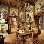 Фото-интерьер-Замок Нойшванштайн-Одна из комнат