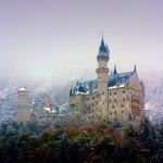 Фото-Замок Нойшванштайн зимой-фото