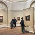 Леонардо да Винчи,Портрет Джиневры де Бенчи-одна из главных достопримечательностей галереи.Фото Прохоровой