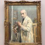 Заказать картину-Либерман Макс-Max Liebermann Selbstbildnis im Malkittel,1922