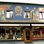 Роспись стен-Обераммергау-художественная роспись домов (фото-Википедия)