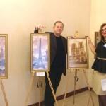 Фото-Олег М. Караваев и Светлана Гринчак-судья Раздельнянского районного суда Одесской обл.,художник
