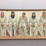 Новая пинакотека-Мюнхен-Фото-Ходлер Фердинанд (1853-1918)- Фердинанд Ходлер. Утомленные жизнью. 1892