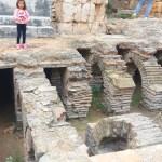 Фото-Теплый пол в римских банях! вот такое решение!