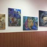 Персональная выставка Татьяны Золотухиной,картины художника