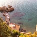 Фото-Пляж Афродиты. вид сверху. сюда с туннеля бегали с гарема