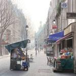 Les 4 pigeons et les toits de Montmartre-Тьерри Дюваль (Thierry Duval)-заказать картину