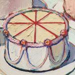 Thiebaud Wayne-Cakes, холст, масло,1963 г. Фрагмент2