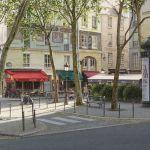 Картина-Trouée de lumière rue des Grands Degrés, 33х41-Тьерри Дюваль (Thierry Duval)