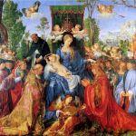 Заказать картину- Альбрехт Дюрер. Праздник чёток (1506)