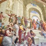 Афинская школа-Рафаэль (фрагмент) -Ватикан
