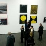 На выставке, фото