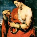 Картина-Рубенс. Клеопатра (ок. 1615)