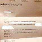 Персональное приглашение от Сотбис-Анне Прохоровой.