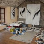 Черногория, городской пейзаж, мастерская художника