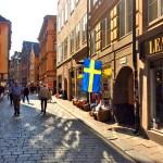 Улочки столицы Швеции