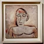 Пабло Пикассо, «Бюст», 1907 г.