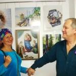 Представление картин Георгия Делиева-арт-директор Маски Шоу-Алёна Смилык