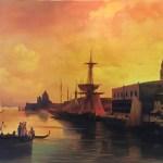 Венеция -Вольная копия Айвазовского,. холст, масло, 91х 150, 2018 г. -Анастасия Алёхина