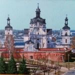 Крепость XIV в. холст, масло, 25х35, 2017г.Геннадий Кривушин