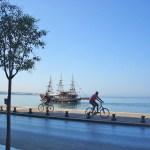 Салоники. Набережная-пейзажи Греции