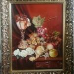 Фрукты,холст,масло,46×57, 2012 г.- Геннадий Кривушин