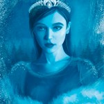 Снежная королева, adobe photoshop, графический планшет-Александра Иванюк