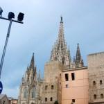 Барселона-городской пейзаж1