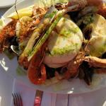 Каталонская еда и морепродукты