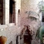 Музей П.Пикассо,выход, дворик