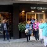 Наш отель-перед входом
