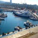 На берегу Средиземного моря-Бухта Барселоны1