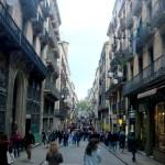 Улицы Барселоны,заказать картину-пейзаж