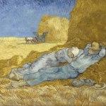 Vincent van Gogh- The Siesta (after Millet)(Dec. 1889-Jan. 1890)- Musée d'Orsay, Paris - Винсент Ван Гог - картины Мастера