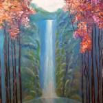 ПЗС - Waterflow-холст,масло,-Юлия Михно