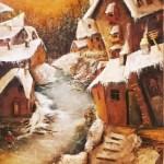 Долгая зима,холст, масло, 60х80, 2019г-Анжелика Ягодина